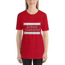 Load image into Gallery viewer, Awesome Counselor Tee (multiple colors)
