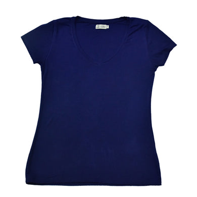 Navy Blue Womens T-Shirt