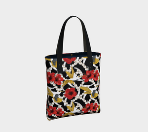 Tote Bag - Nectar of Life (Noire), Tote Bag, Bohemian Haven LLC., Bohemian Haven LLC.