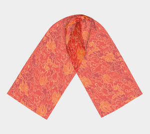 Long Scarf - Firestorm, neck, Bohemian Haven LLC., Bohemian Haven LLC.