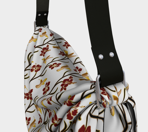 Origami Tote - Lei with me (Blanche), Tote bag, Bohemian Haven LLC., Bohemian Haven LLC.