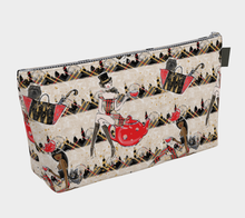 Load image into Gallery viewer, Makeup Bag - Tea Time, makeup bag, Bohemian Haven LLC., Bohemian Haven LLC.