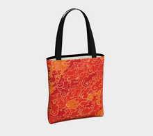 Load image into Gallery viewer, Tote Bag - Firestorm, Tote Bag, Bohemian Haven LLC., Bohemian Haven LLC.