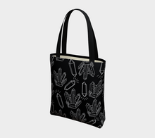Load image into Gallery viewer, Tote Bag - The Cleansing (Noire), Tote Bag, Bohemian Haven LLC., Bohemian Haven LLC.