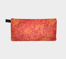 Load image into Gallery viewer, Pencil Case - Firestorm, accessories bag, Bohemian Haven LLC., Bohemian Haven LLC.