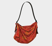 Load image into Gallery viewer, Origami Tote - Firestorm, Tote bag, Bohemian Haven LLC., Bohemian Haven LLC.
