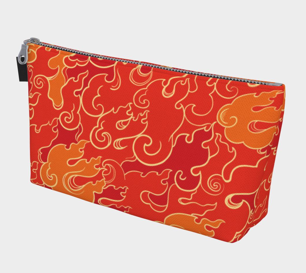 Makeup Bag - Firestorm, Makeup Bag, Bohemian Haven LLC., Bohemian Haven LLC.