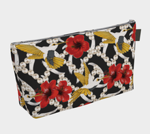 Load image into Gallery viewer, Makeup Bag - Nectar of Life (Noire), Makeup Bag, Bohemian Haven LLC., Bohemian Haven LLC.