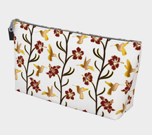 Load image into Gallery viewer, Makeup Bag - Lei with me (Blanche), Makeup Bag, Bohemian Haven LLC., Bohemian Haven LLC.