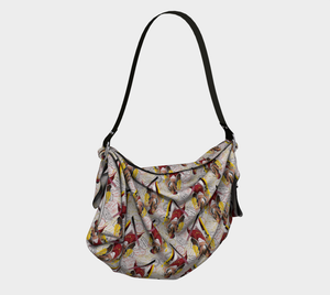 Origami Tote - All aboard, Tote bag, Bohemian Haven LLC., Bohemian Haven LLC.