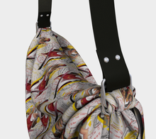 Load image into Gallery viewer, Origami Tote - All aboard, Tote bag, Bohemian Haven LLC., Bohemian Haven LLC.