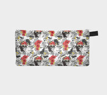 Load image into Gallery viewer, Pencil case - Don't forget your crown, accessories bag, Bohemian Haven LLC., Bohemian Haven LLC.