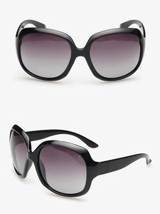 Popular Fashion Ultra-violet Ray Intercepting Big Structure Sunglasses CHAMPAGNE