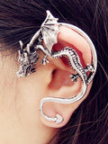 Vintage Kiss of Dragon Alloy Earring Accessories 1 PIECE COPPER
