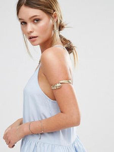 Bohemia Feather Arm Chain Accessories COPPER