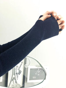 Slender Solid Color Sleevelet Accessories LIGHT GRAY FREE SIZE
