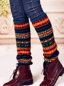 Luluslike Bohemia Knitting Over Knee-high Stocking