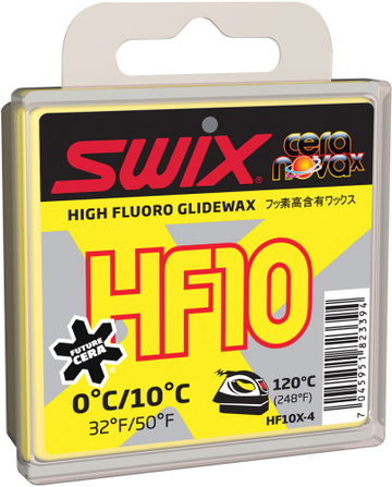 Swix HF10X Yellow Ski Wax