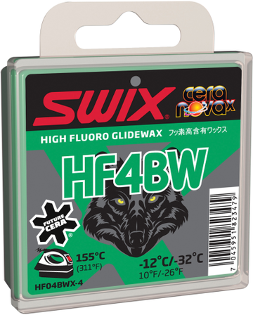 Swix HF5BWX Black Wolf Ski Wax - Cold Weather Wax
