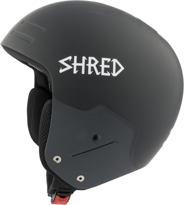 2017 Shred Basher Ski Helmet - FIS - Blackout