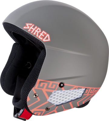 Shred Mega Brain Bucket RH Ski Helmet - FIS - Norfolk Rust
