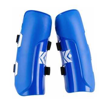 Kerma Leg Protection Jr | Slalom Shin Guards, Set of 2, Blue