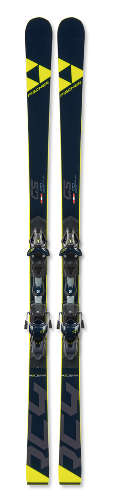2020 Fischer Jr GS Skis RC4 WC - CURV Booster