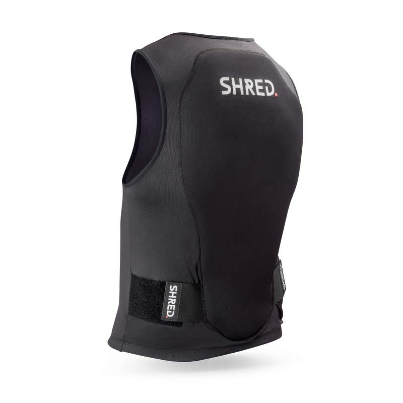 Shred Flexi Back Protector Zip-Up Vest