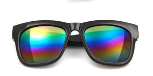 Womens candy color sunglasses.