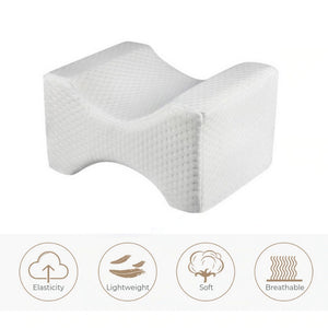 Breathable memory foam pillow