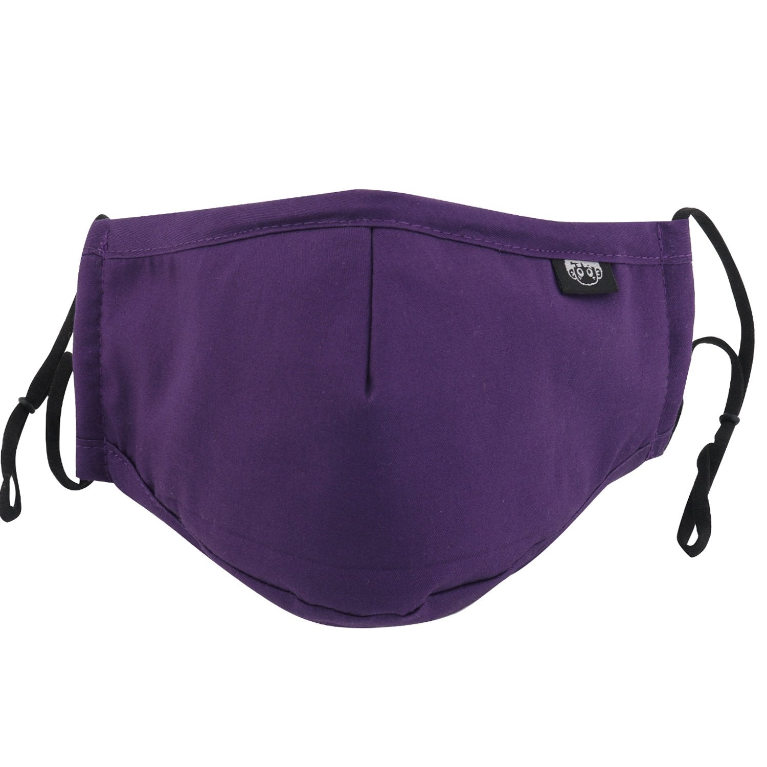GUOER Mask Can Be Washed Reusable Mask One Size Multiple Colors (Purple)