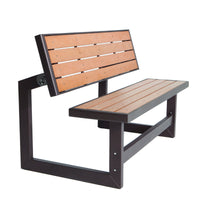 Lifetime 60054 Convertible Bench / Table, Faux Wood Construction
