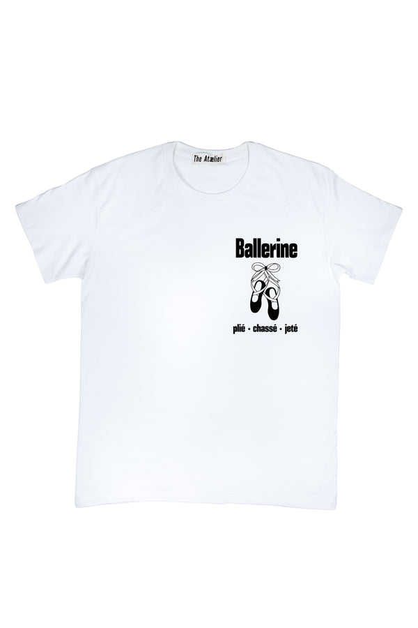 BALLERINE Shirt (White)