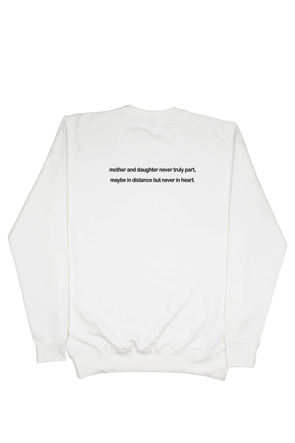 MOM & DAUGHTER Sweater (White)