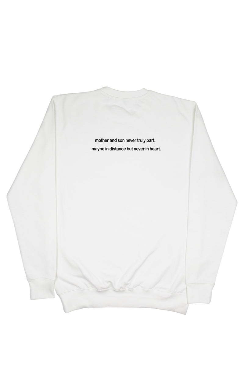 MOM & SON Sweater (White)