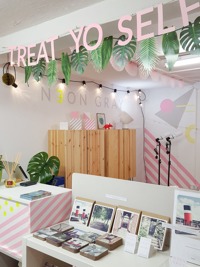 Neon Gray Studio and Shop in Glasgow