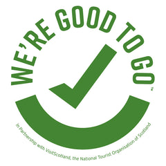 We're Good To Go Scotland Logo