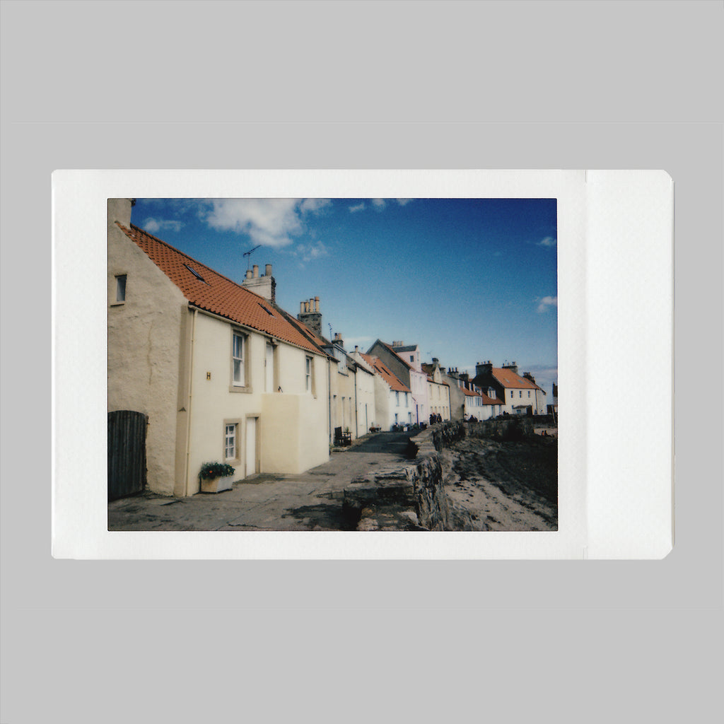 Instax snap of Pittenweem by Neon Gray