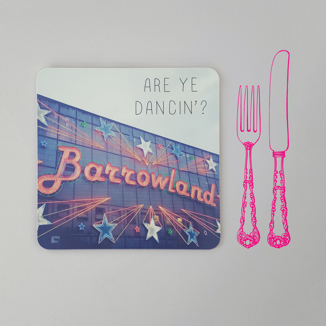 Banter Placemat Barrowland Ballroom