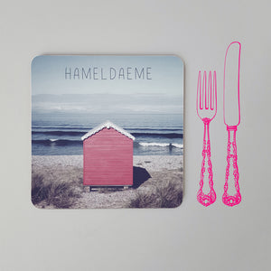 Banter Placemat Beach Hut