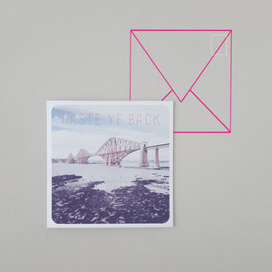 Banter Greetings Card Forth Bridge
