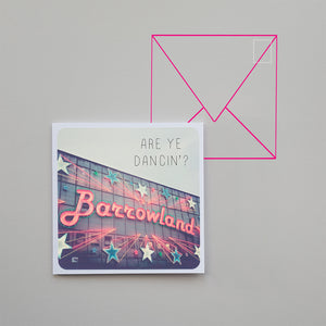 Banter Greetings Card Barrowland Ballroom