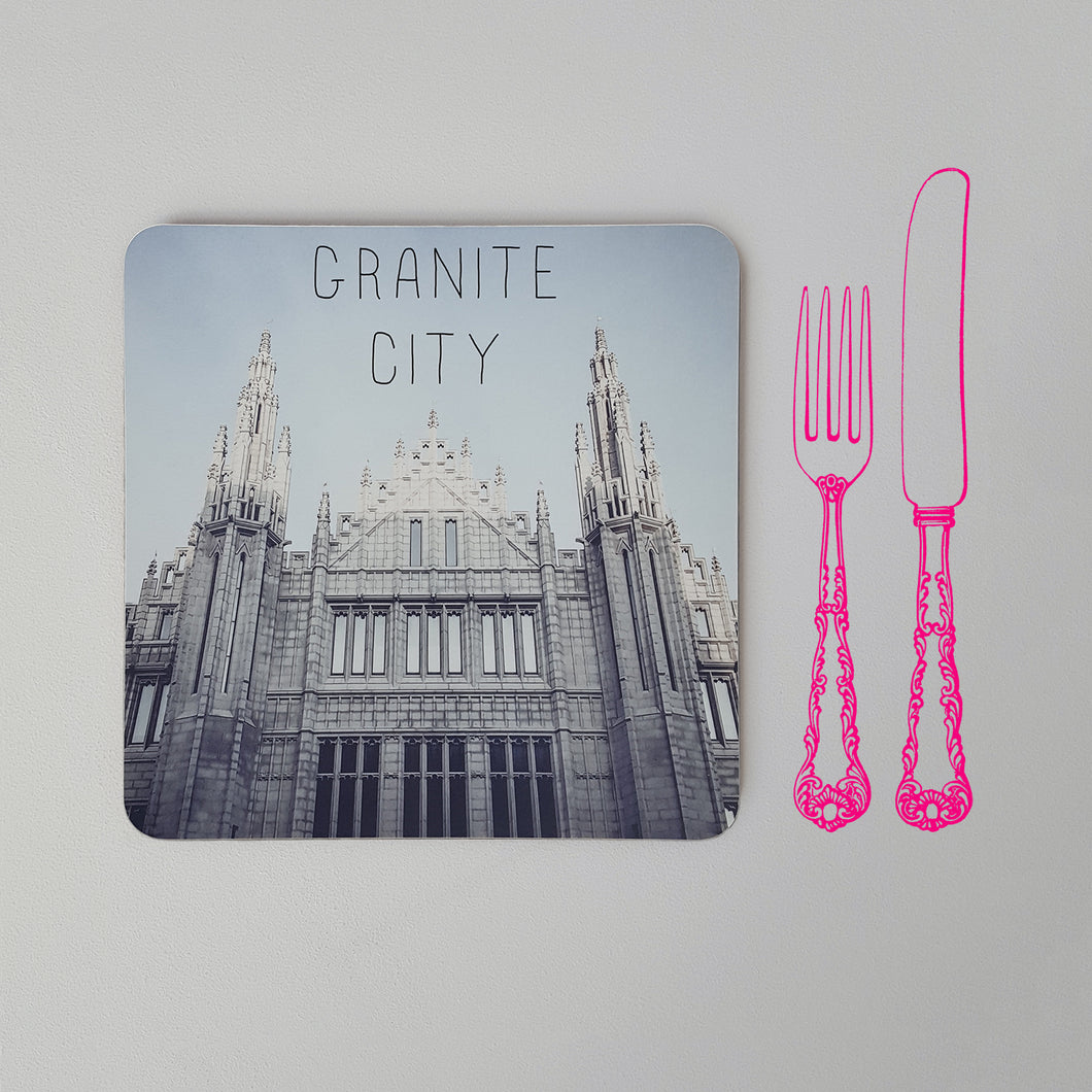 Banter Placemat Marischal College