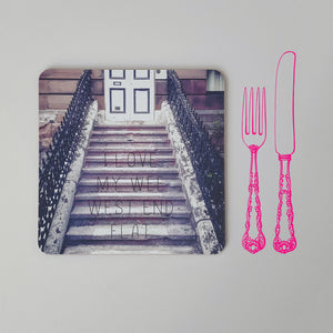 Banter Placemat Tenement Stairs