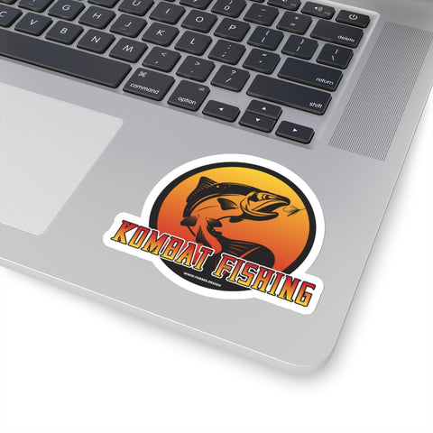 Kombat Fishing Sticker - Forbes Design