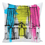 Train Station Pillow - Pillow - [Forbes_Design]