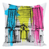 Train Station Pillow - Forbes Design