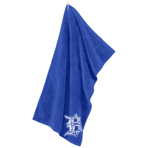 Detroit D Embroidered Golf Towel - Forbes Design