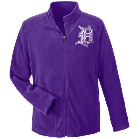 Detroit D Men's Microfleece - Forbes Design