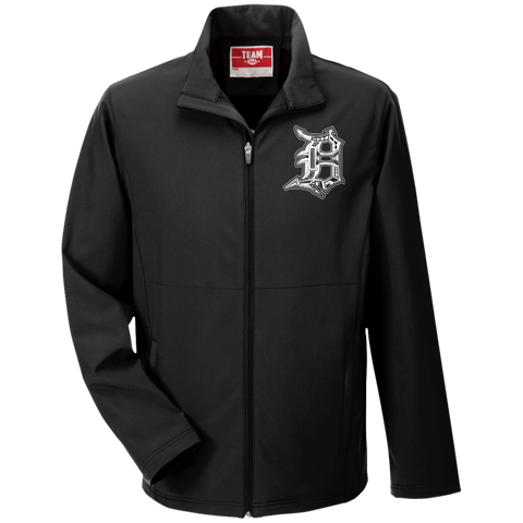 Detroit D Men's Soft Shell Jacket - Forbes Design